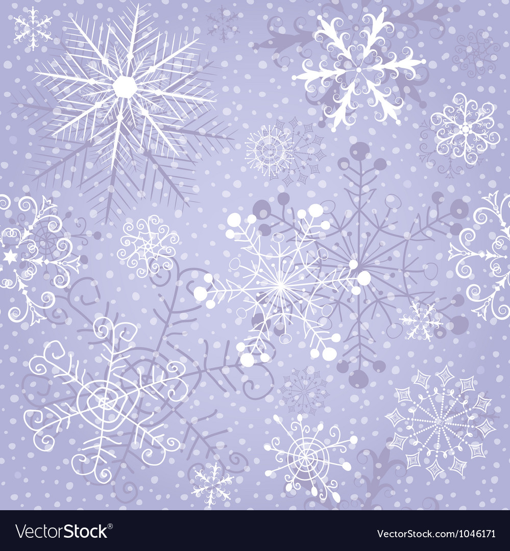 Christmas violet repeating pattern vector | Price: 1 Credit (USD $1)