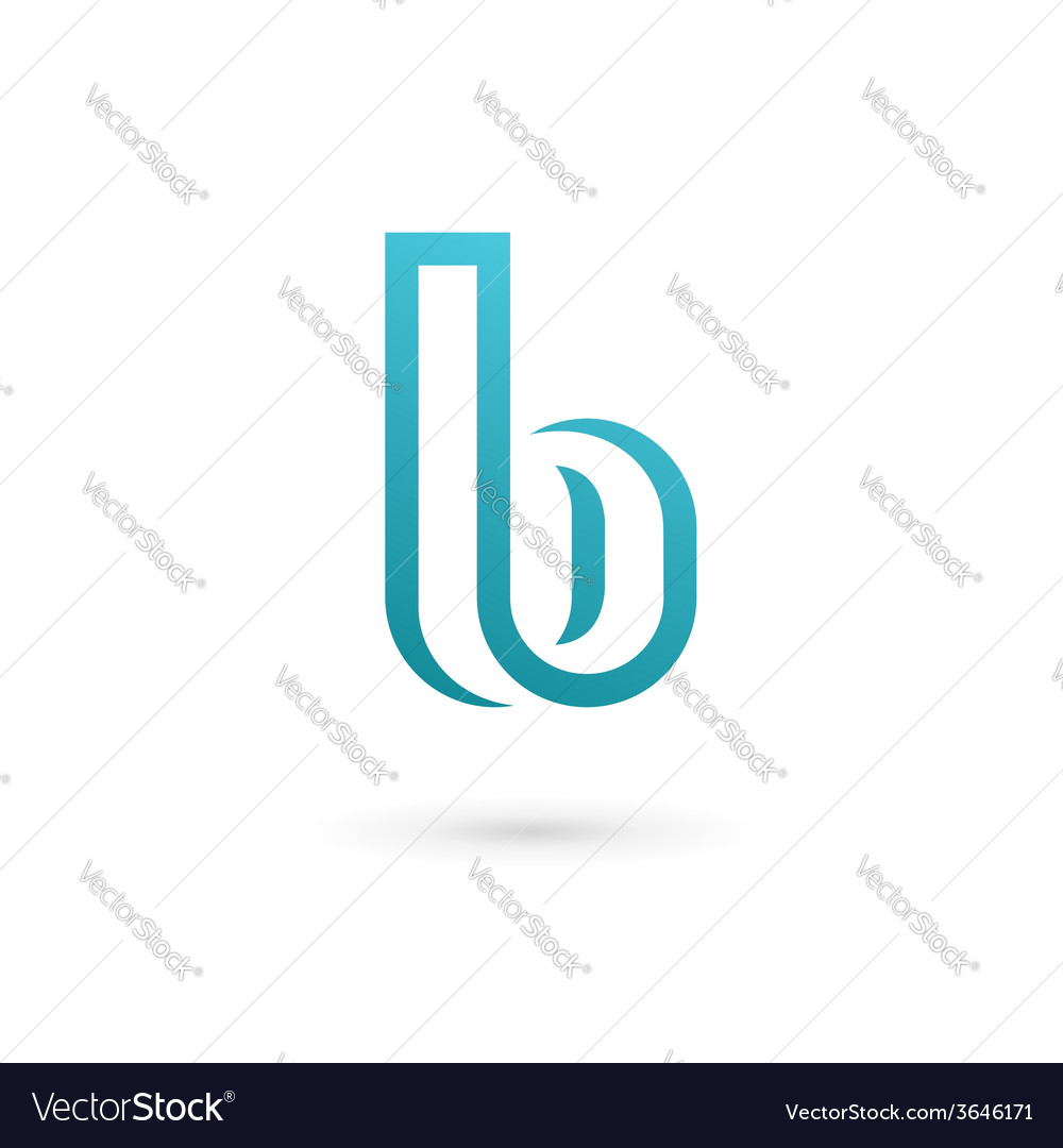 Letter b logo icon design template elements vector | Price: 1 Credit (USD $1)
