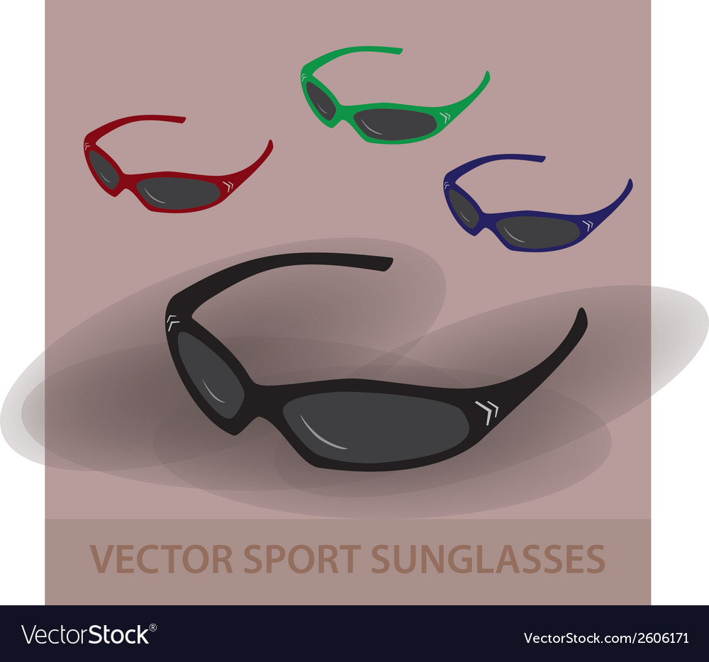 Sport sunglassess eps10 vector | Price: 1 Credit (USD $1)
