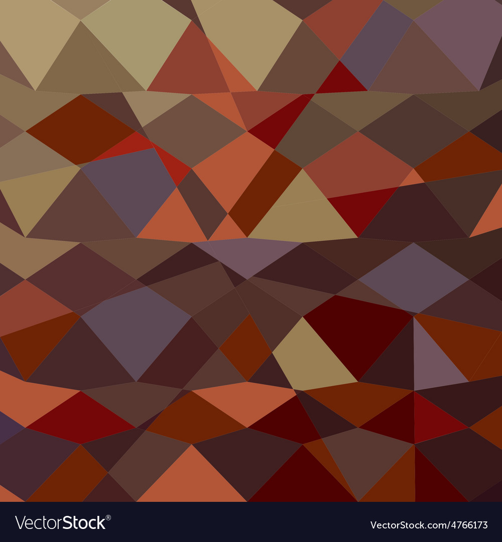 Butterscotch brown abstract low polygon background vector | Price: 1 Credit (USD $1)