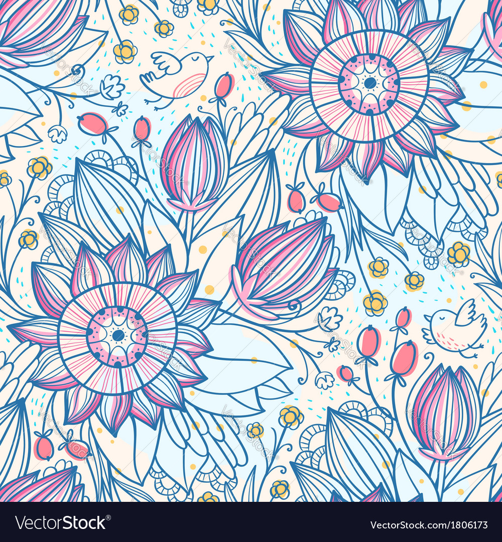 Decorative floral pattern 2 vector | Price: 1 Credit (USD $1)