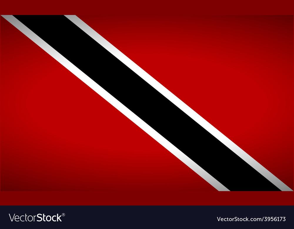 Flag of trinidad and tobago vector | Price: 1 Credit (USD $1)