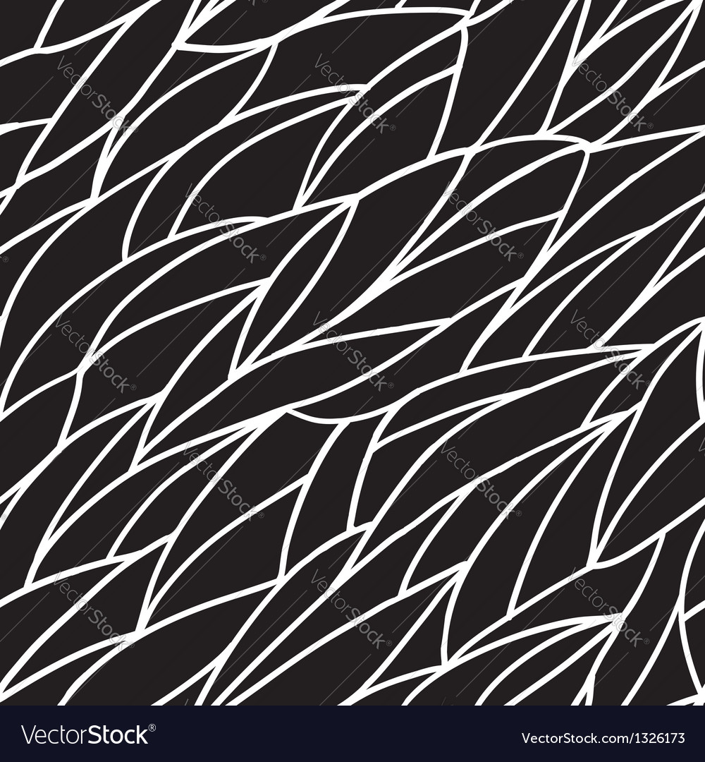 Seamless black and white pattern vector   Price: 1 Credit (USD $1)