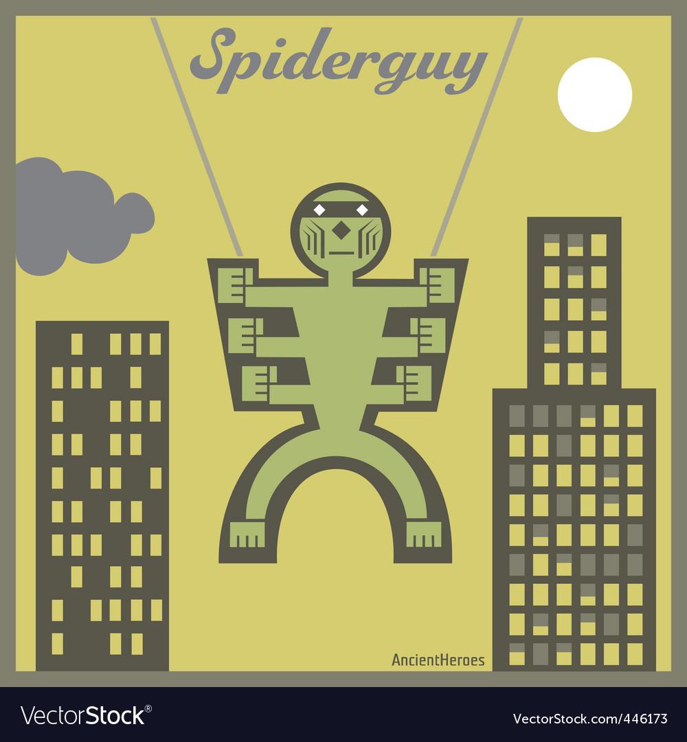 Spider guy vector | Price: 1 Credit (USD $1)