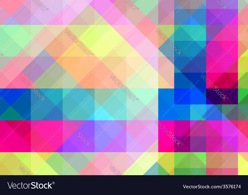 Abstract geometric background with colorful tiles vector | Price: 1 Credit (USD $1)