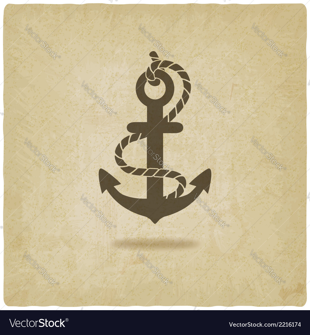 Anchor old background vector | Price: 1 Credit (USD $1)