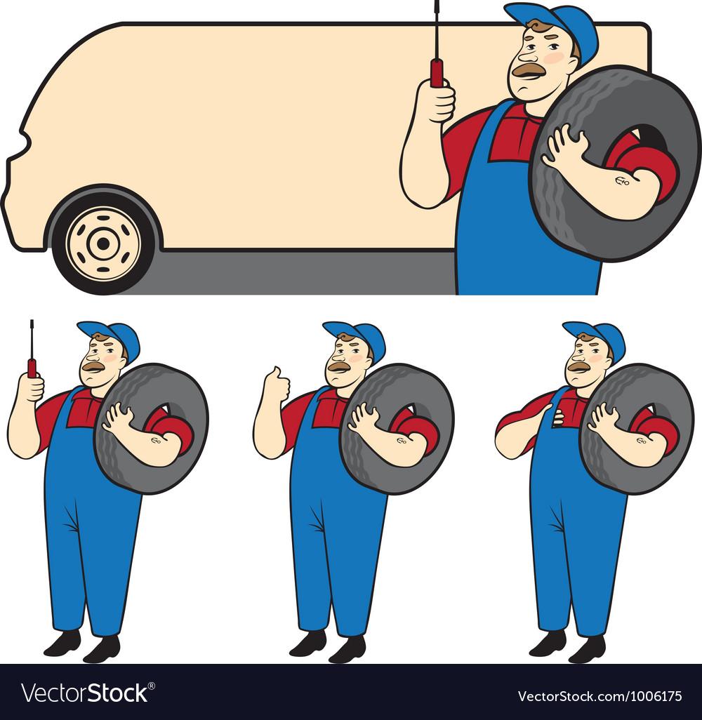 Mechanic vector | Price: 3 Credit (USD $3)