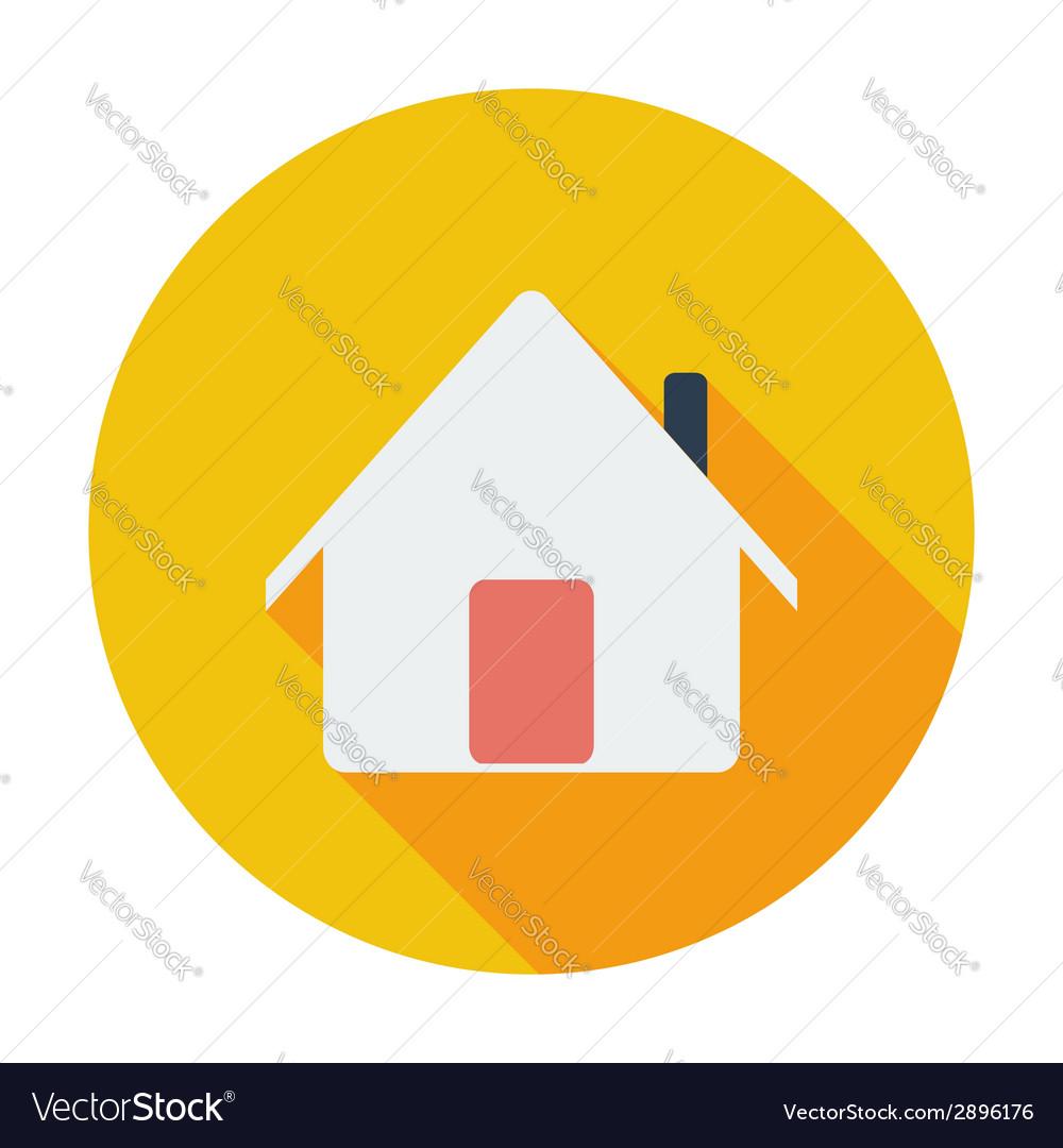 Home single icon vector | Price: 1 Credit (USD $1)