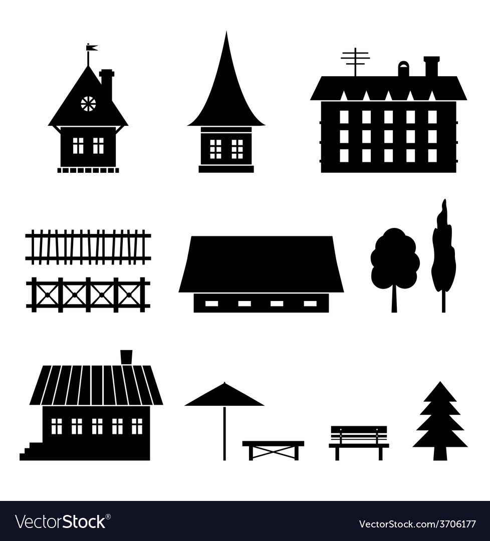 Household icons vector | Price: 1 Credit (USD $1)