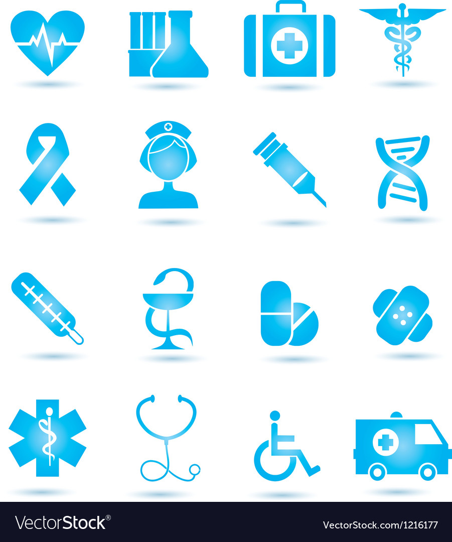 Medicine icons vecior2 vector | Price: 1 Credit (USD $1)