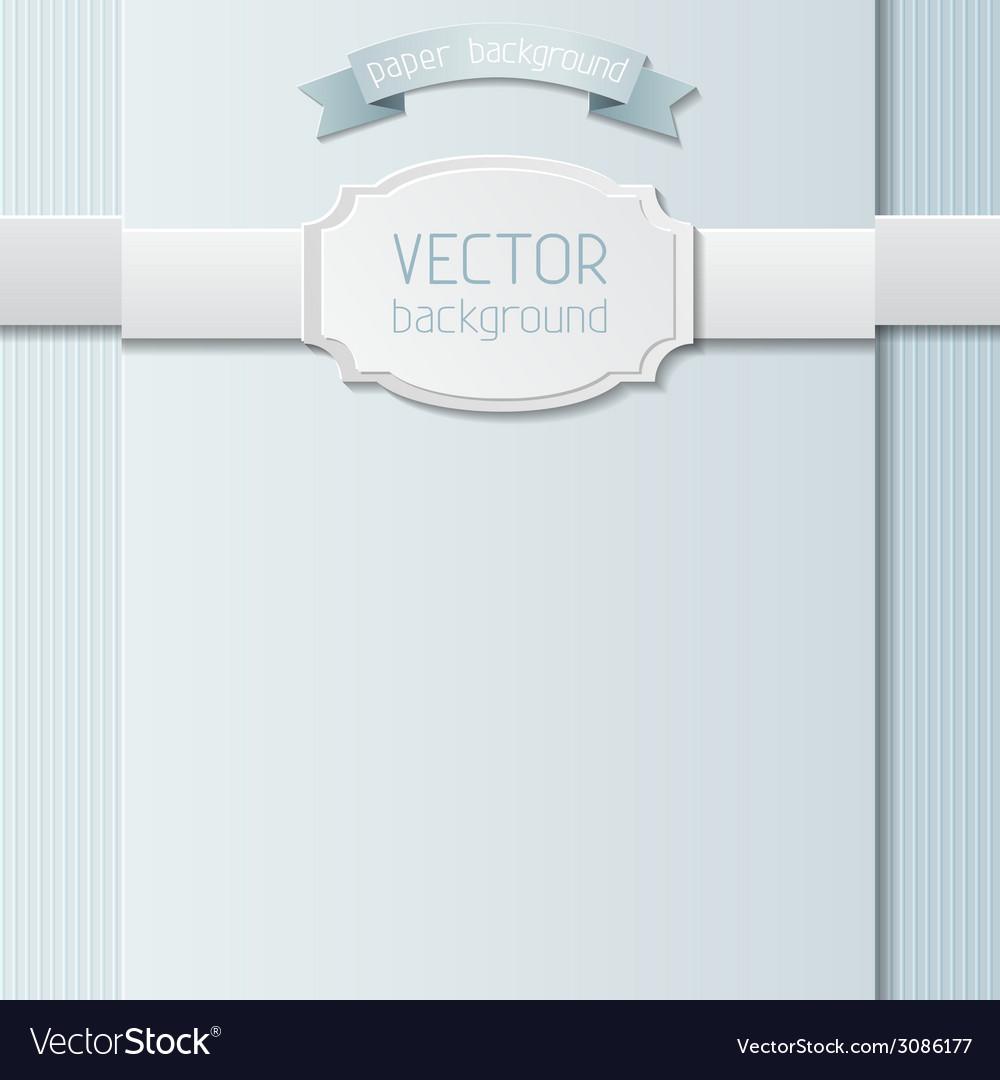 Paper design template vector   Price: 1 Credit (USD $1)