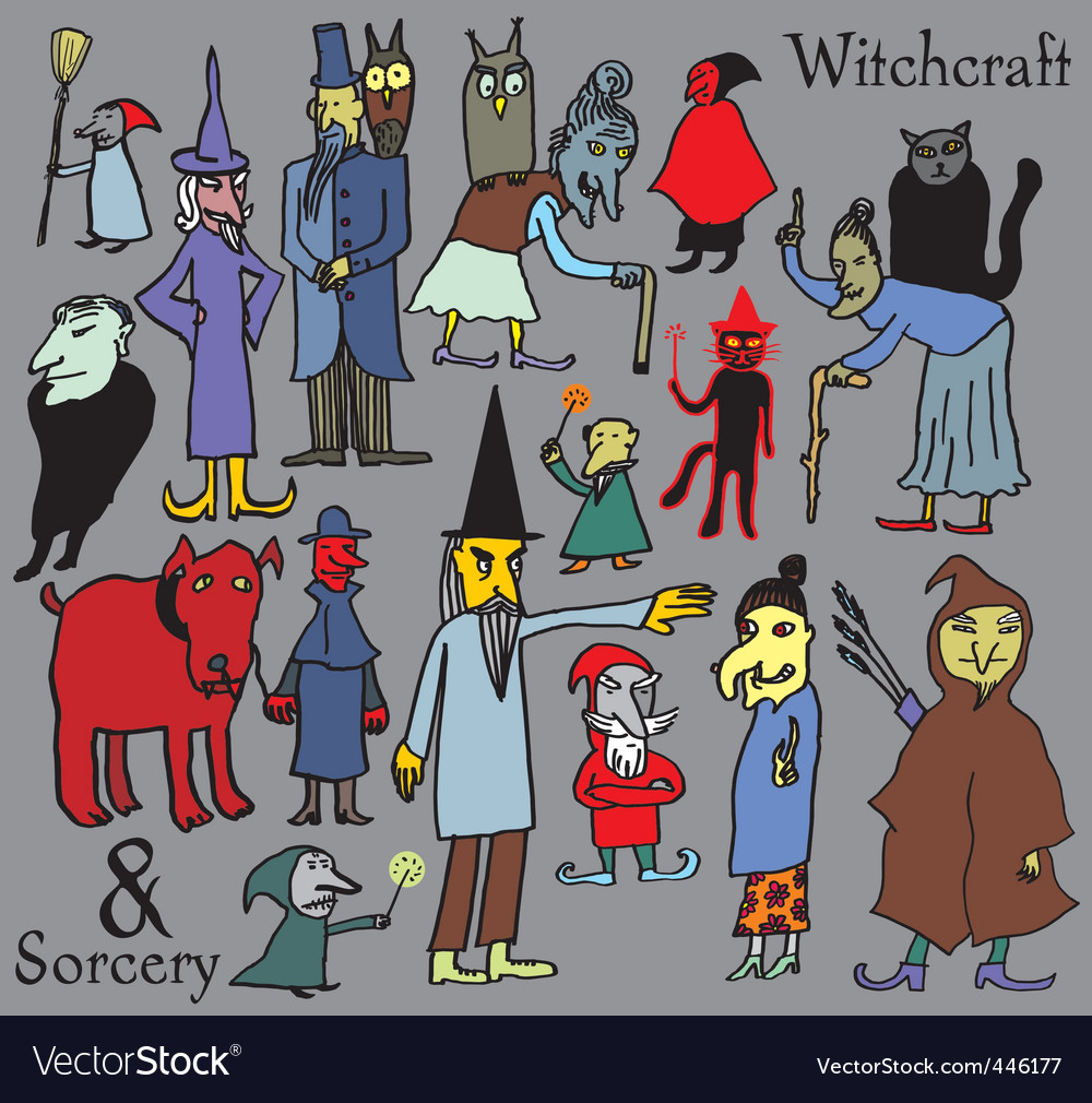 Witchcraft vector | Price: 1 Credit (USD $1)