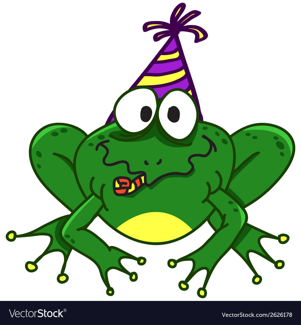A smiling frog eps10 vector | Price: 1 Credit (USD $1)