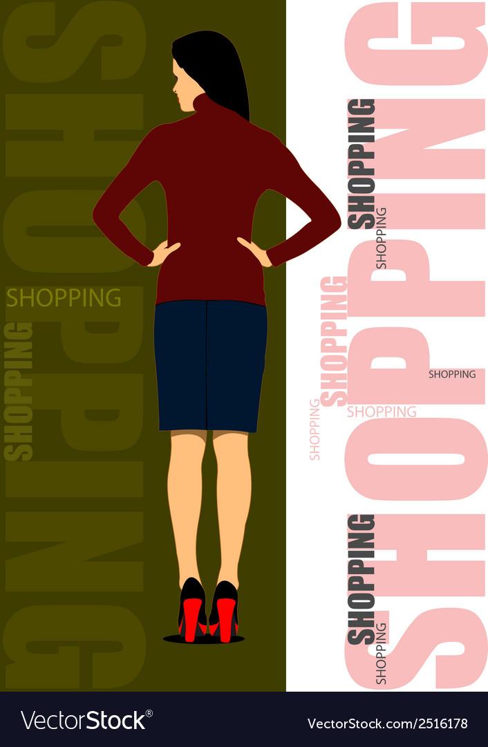Al 0243 shopping 01 vector | Price: 1 Credit (USD $1)