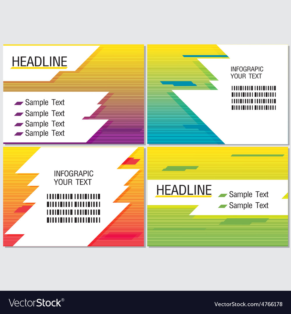 Line speed color info graphic modern vector | Price: 1 Credit (USD $1)