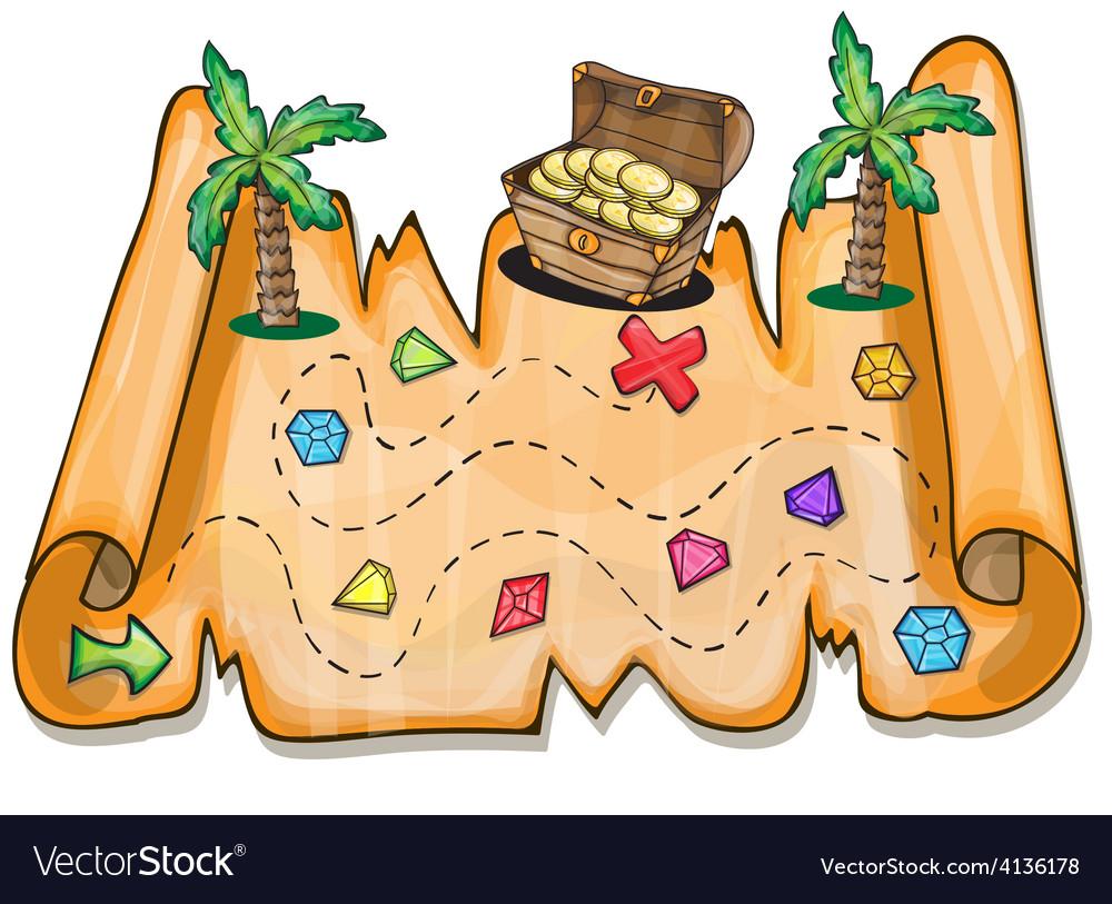 Pirate treasure chest - vector | Price: 3 Credit (USD $3)