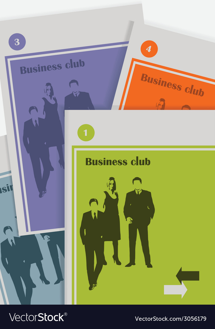 The magazine about business vector | Price: 1 Credit (USD $1)