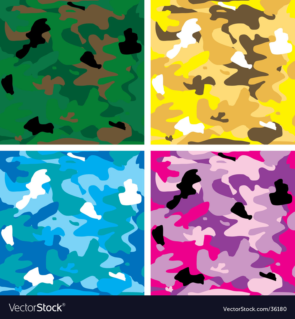 Camouflage tile vector | Price: 1 Credit (USD $1)