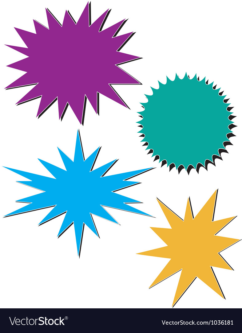 Bursts vector | Price: 1 Credit (USD $1)