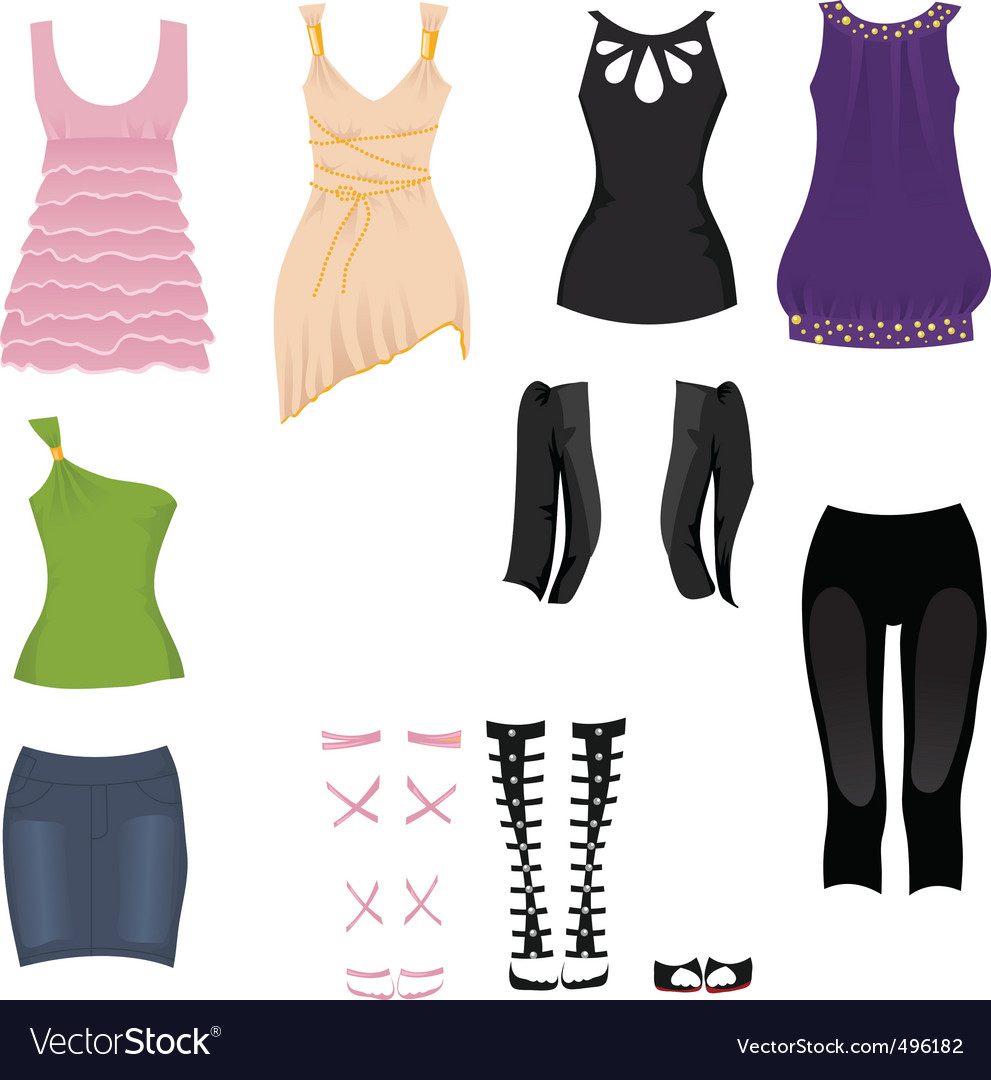 Date clothes vector | Price: 1 Credit (USD $1)