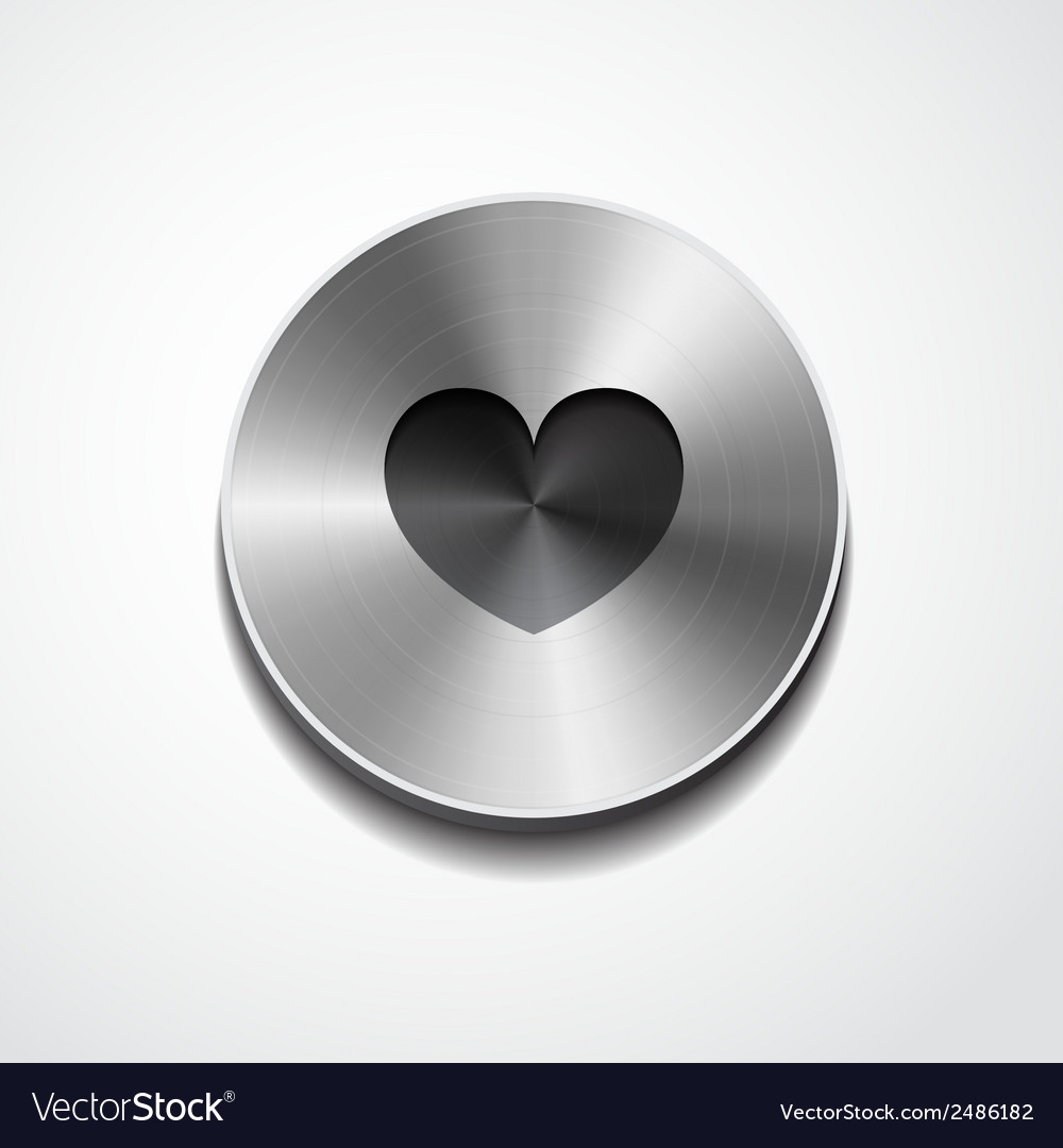 Heart icon isolated vector | Price: 1 Credit (USD $1)