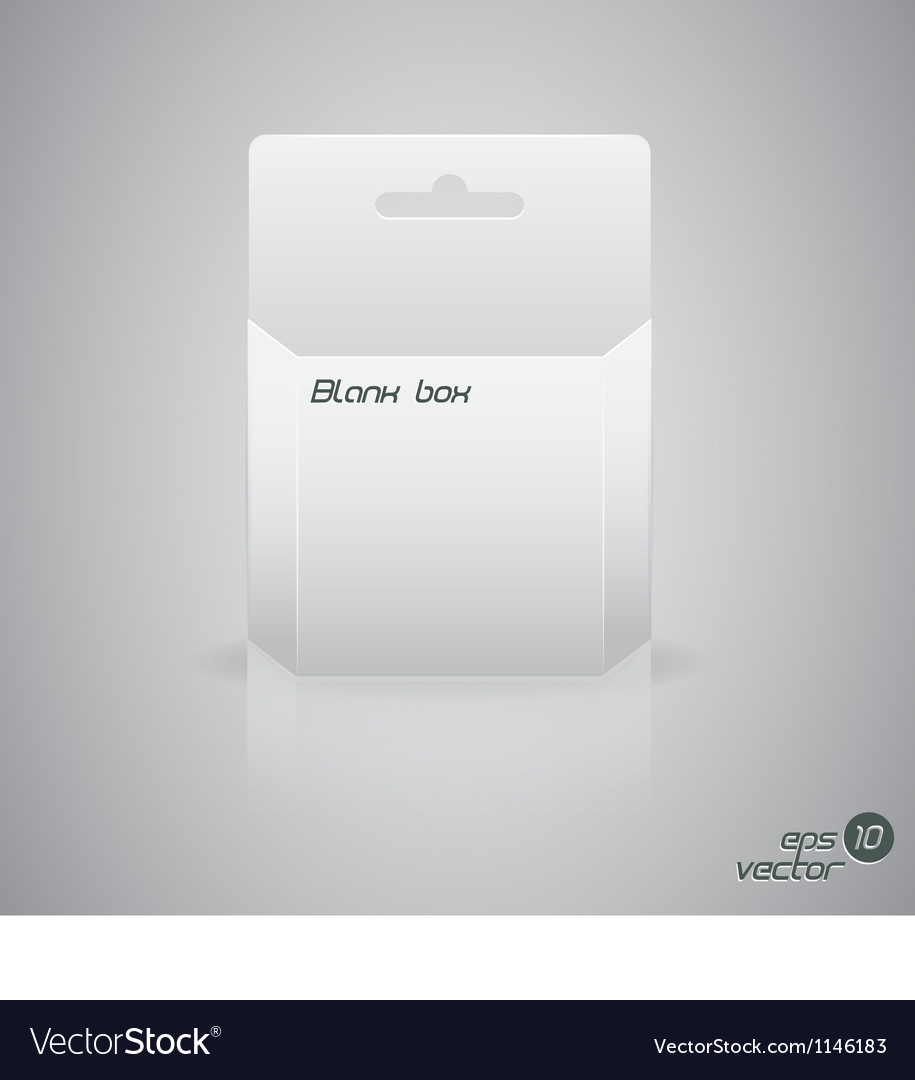 Blanc box vector | Price: 1 Credit (USD $1)
