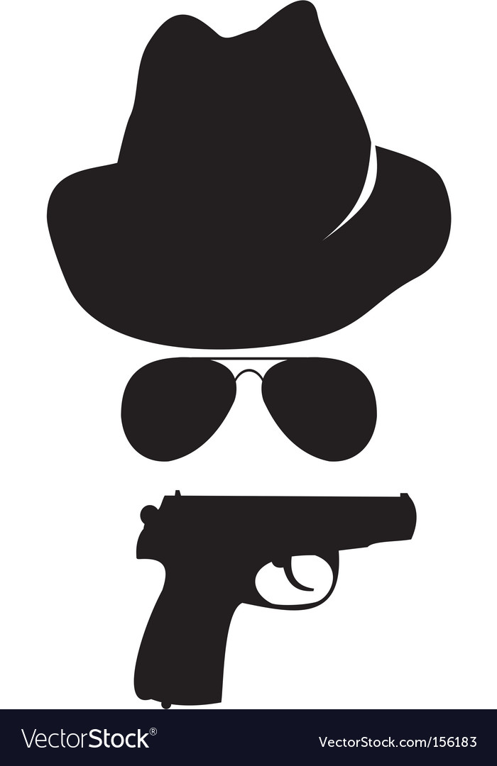 Spy accessories vector | Price: 1 Credit (USD $1)