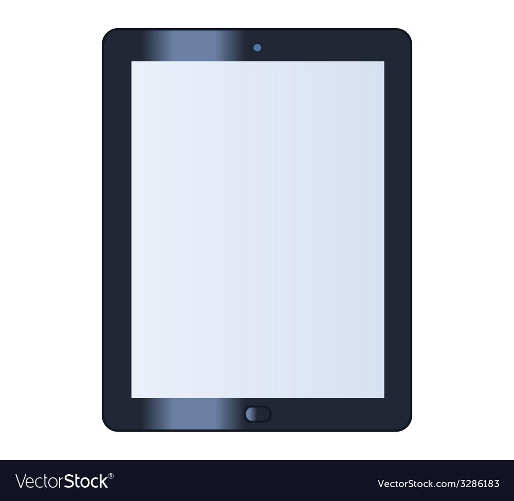 Tablet vector | Price: 1 Credit (USD $1)