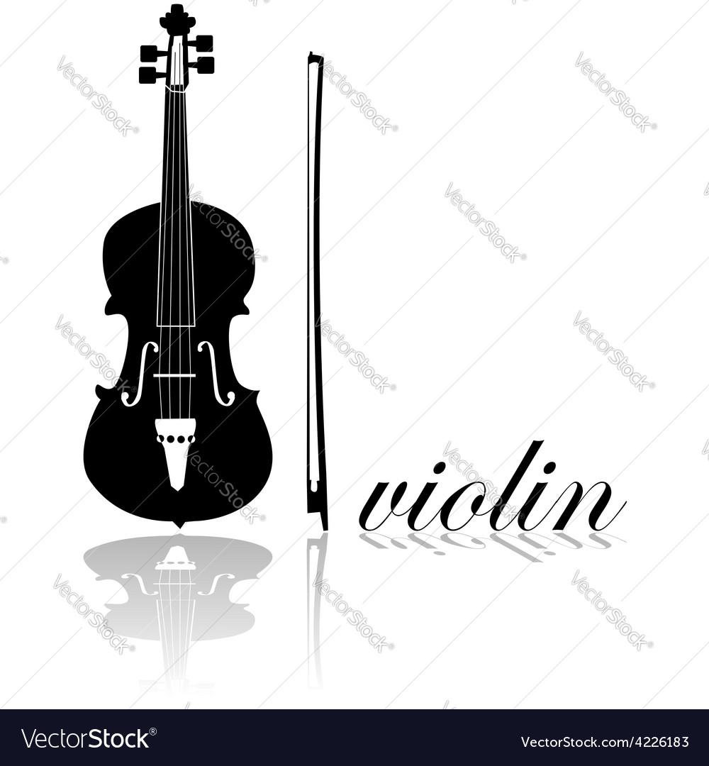 Violin icon vector | Price: 1 Credit (USD $1)