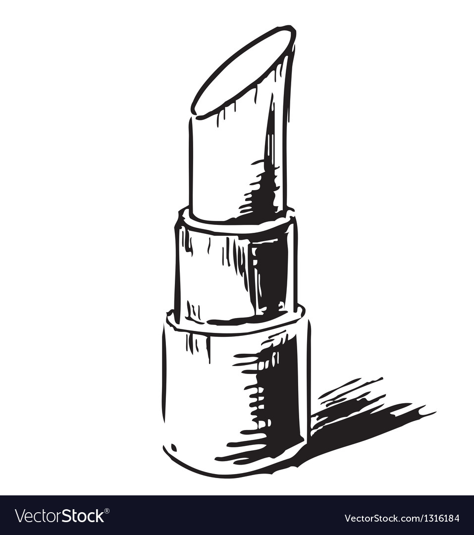 Open lipstick vector | Price: 1 Credit (USD $1)
