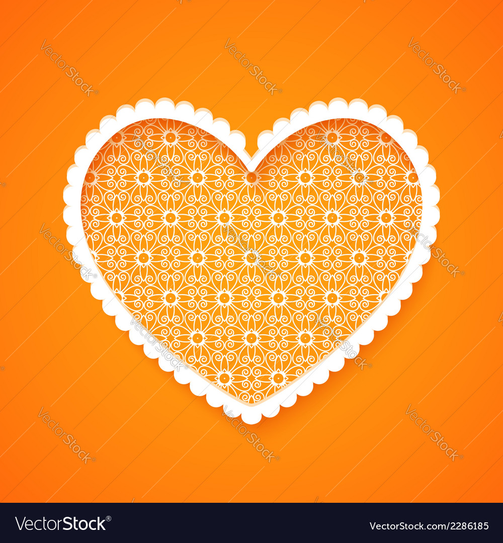 Abstract heart silhouette vector   Price: 1 Credit (USD $1)