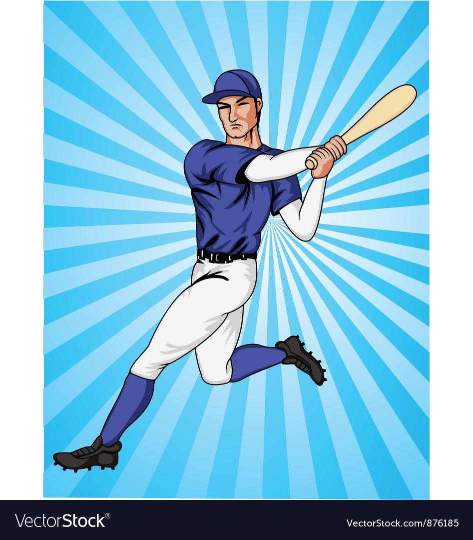 Baseball player vector   Price: 1 Credit (USD $1)