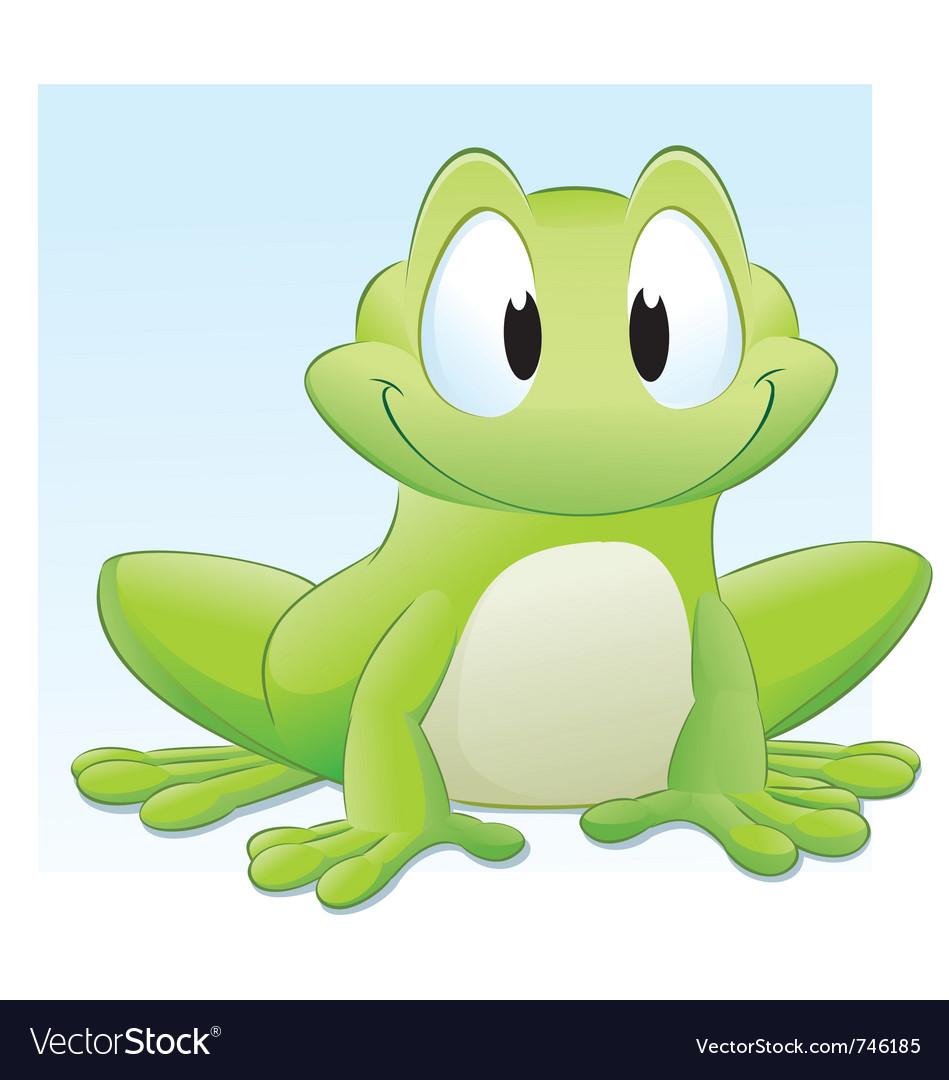Cartoon frog vector | Price: 3 Credit (USD $3)
