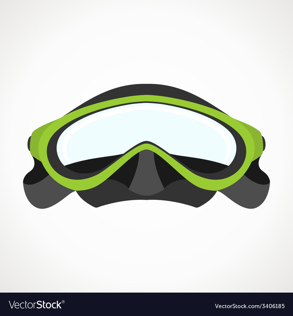 Divermask2d vector | Price: 1 Credit (USD $1)