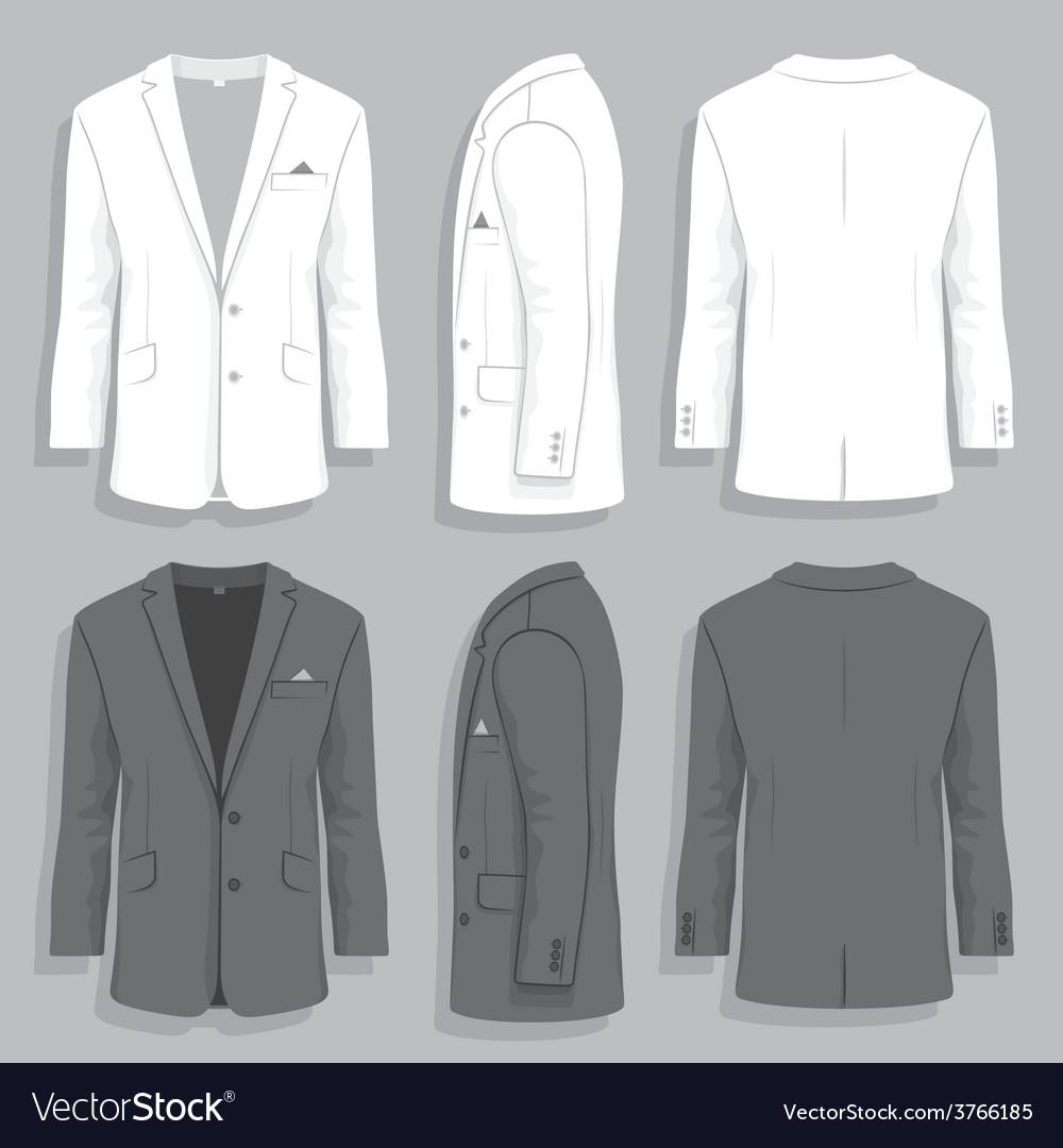 Men s suit vector | Price: 1 Credit (USD $1)