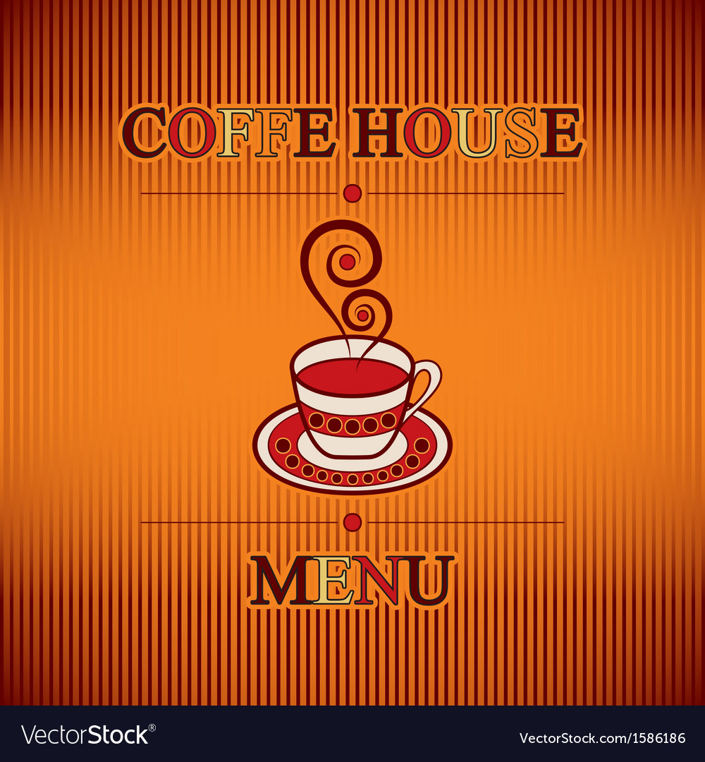 Coffe menu vector | Price: 1 Credit (USD $1)
