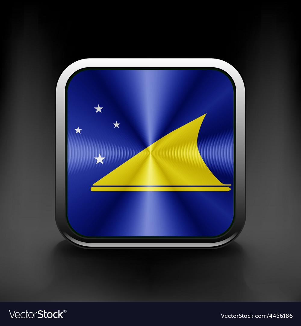 Tokelau flag icon see also version vector | Price: 1 Credit (USD $1)