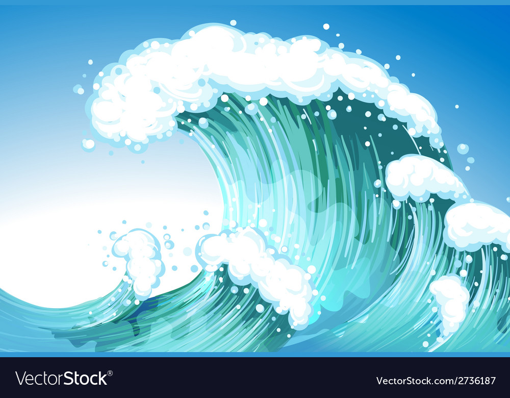 Big wave vector | Price: 1 Credit (USD $1)