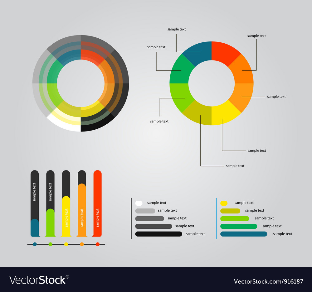 Elements of infographics vector | Price: 1 Credit (USD $1)
