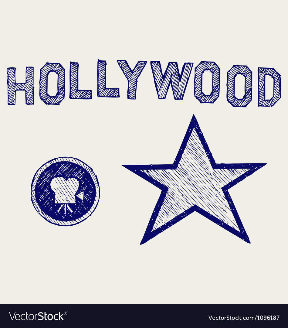Hollywood vector | Price: 1 Credit (USD $1)