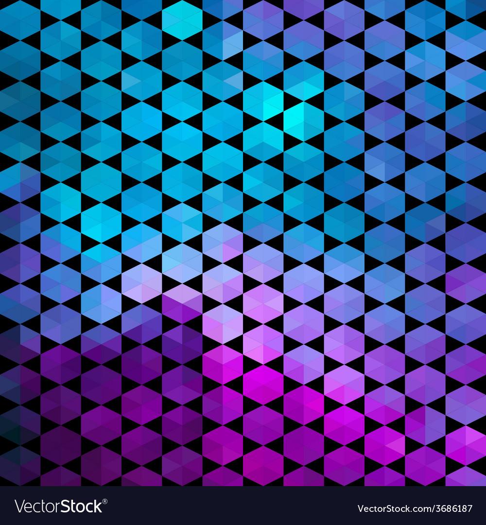 Trianglesgeometric background vector | Price: 1 Credit (USD $1)