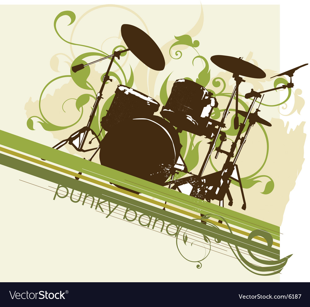 Urban music graphic vector | Price: 3 Credit (USD $3)