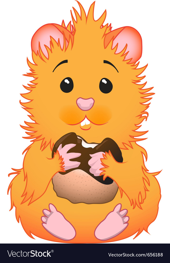 Cute hamster vector | Price: 1 Credit (USD $1)