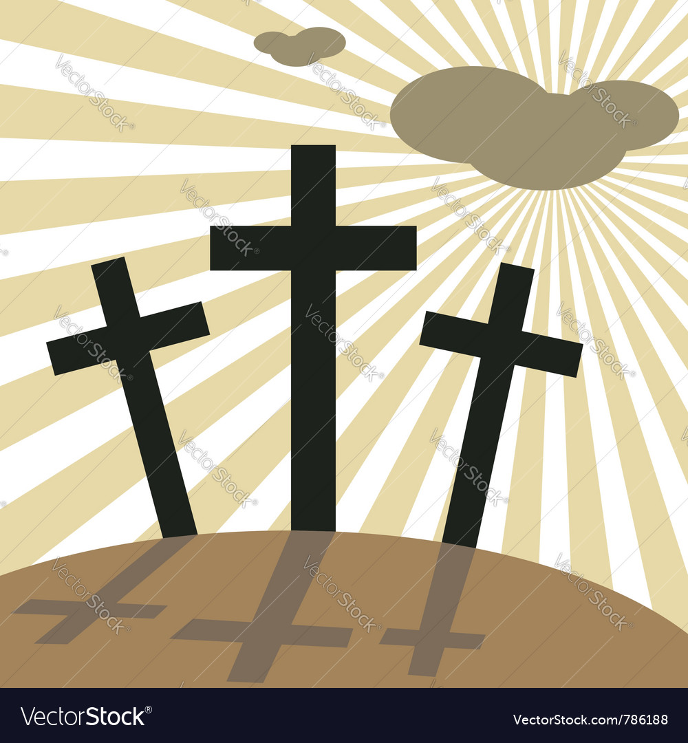 Good friday easter vector | Price: 1 Credit (USD $1)