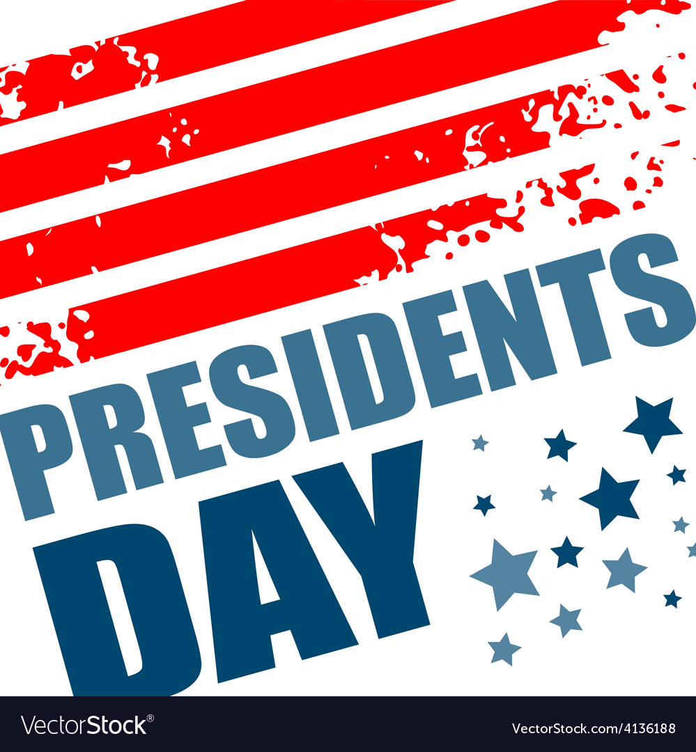 Presidents day background vector | Price: 1 Credit (USD $1)