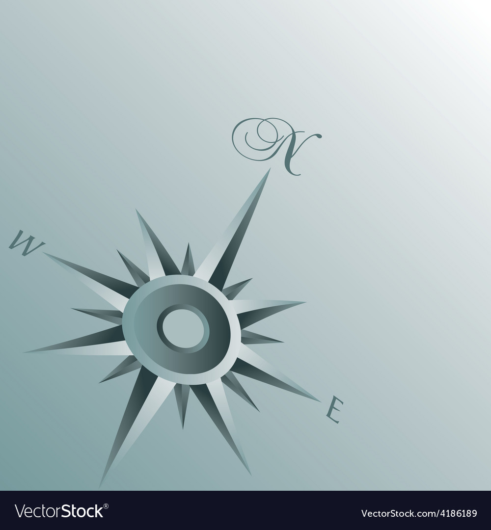 Abstract compass background vector | Price: 1 Credit (USD $1)