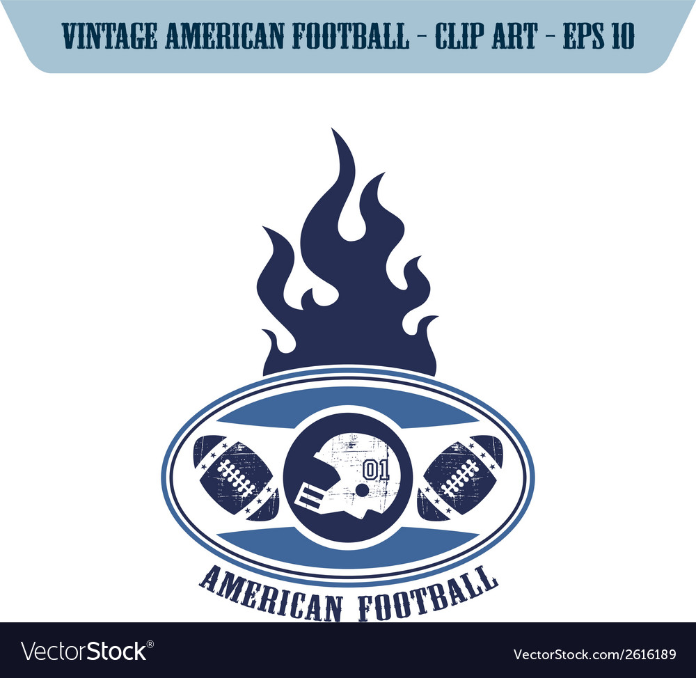 Football design elements vector | Price: 1 Credit (USD $1)
