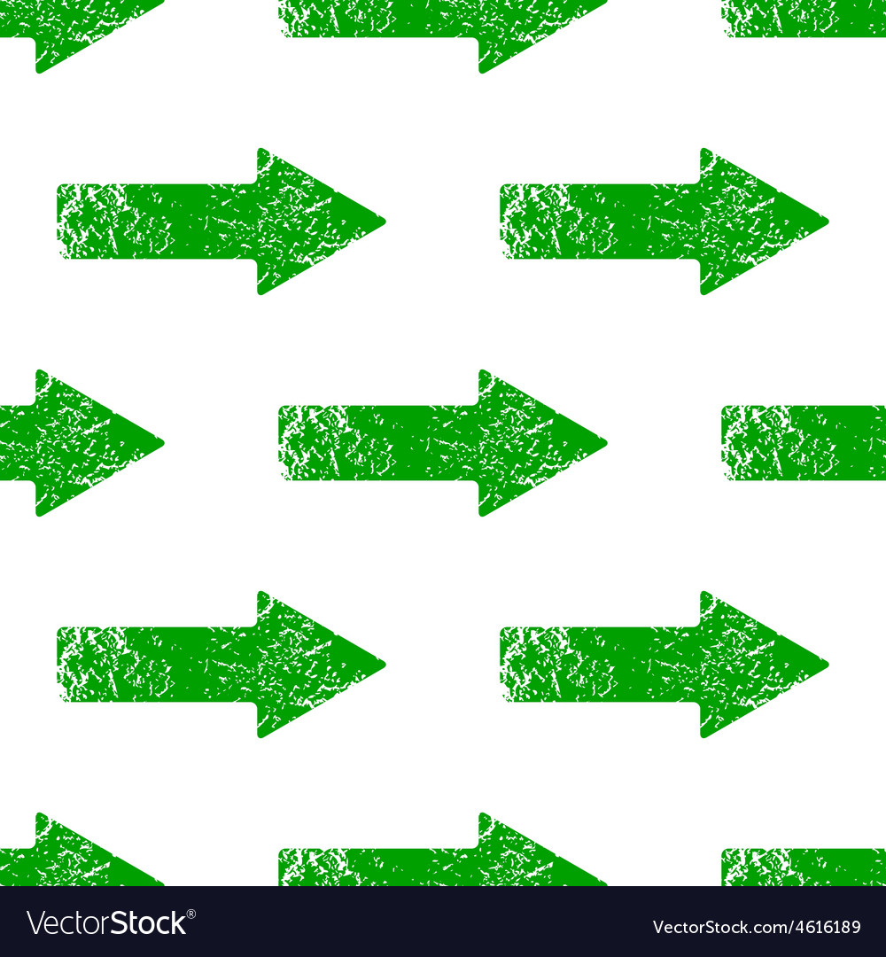Green right arrow pattern vector | Price: 1 Credit (USD $1)