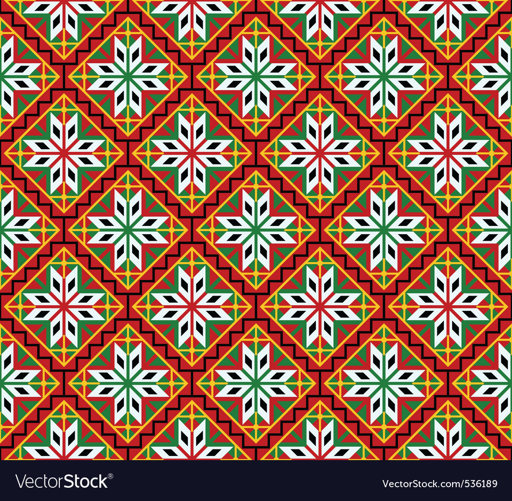 Norsk seamless pattern vector | Price: 1 Credit (USD $1)