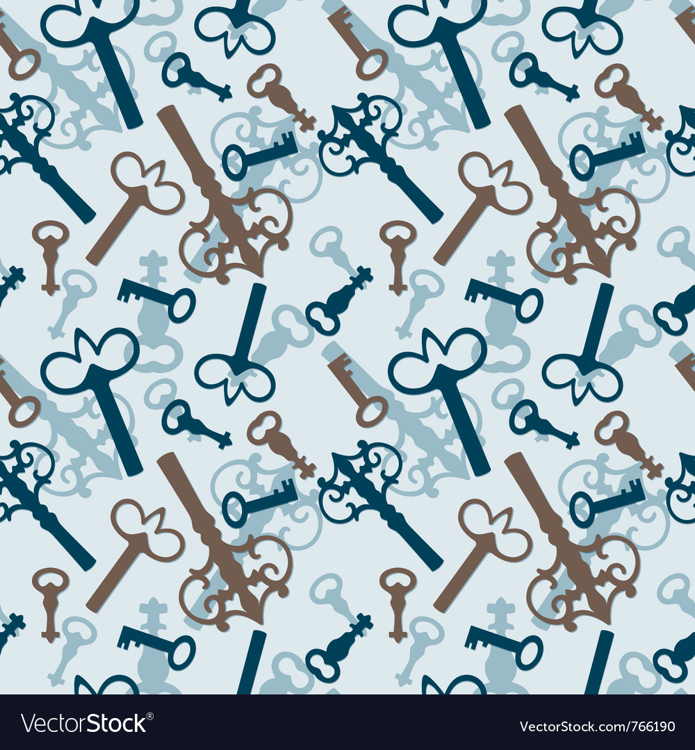 Old vintage keys vector | Price: 1 Credit (USD $1)